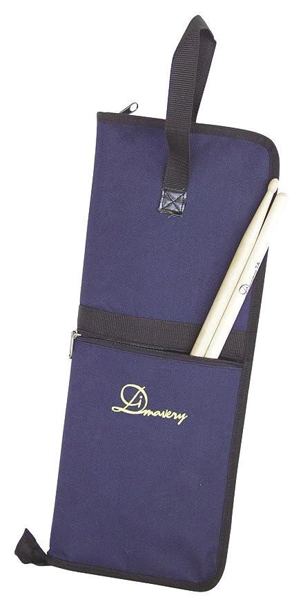 Set 2 x Bolsa para baquetas RELY, azul, nylon, compacta - 2 ...