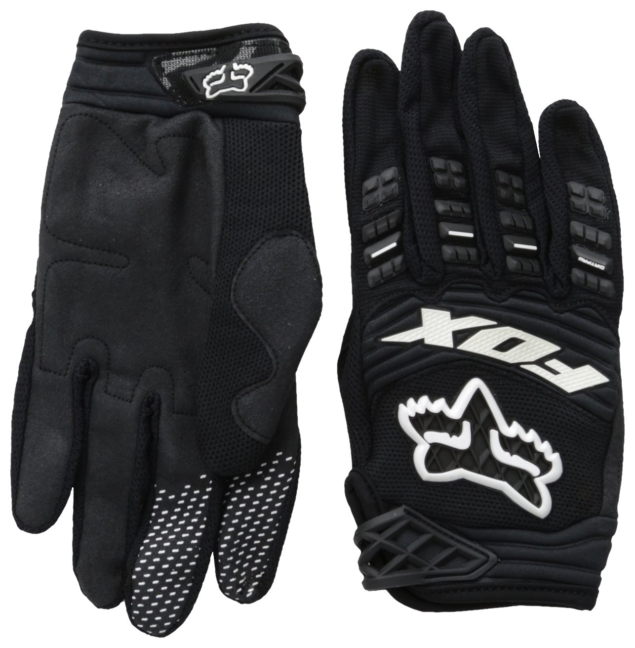 2014 Fox Head Men's Dirtpaw Race Glove Black, Large by Fox Racing
