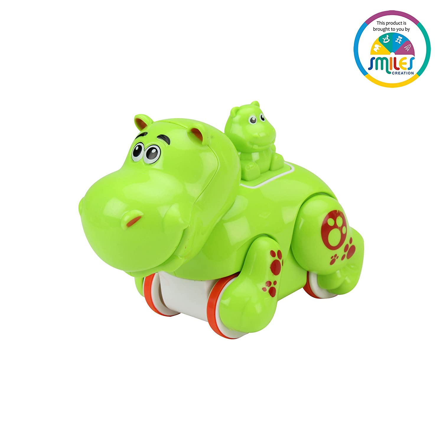 Buy Smiles Creation Press And Go Hippo Green Online At Low Prices Nero 3 In India