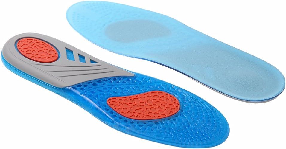 [Phoenix] インソール 中敷 衝撃吸収 歩きやすい シリコンゲル素材 柔らかい 通気性抜群 スポーツ ウォーキング 普段歩き 疲れにくい サイズ調整可能
