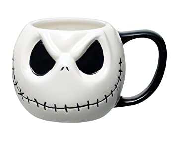 The Nightmare Before Christmas Jack Head Ceramic Mug: Amazon.co.uk ...