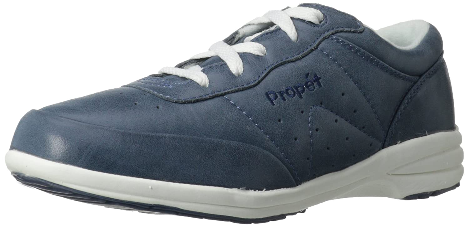 Propet Women's Washable Walker Sneaker B000P4AVG4 8 D US|Royal Blue/White
