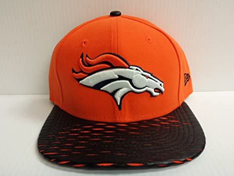 Image Unavailable. Image not available for. Color  New Era NFL Denver Broncos  Leather RIP 2Tone Original Fit Snapback ... cdb4417d5