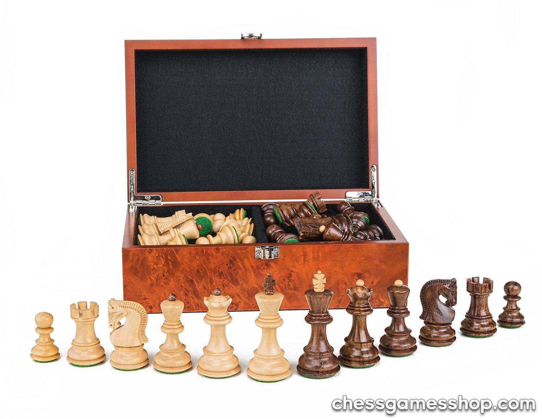 【人気ショップが最安値挑戦!】 ザグレブDubrovnikロイヤルS木製チェスpieces-chessmen 3 B075SWN4F1 3