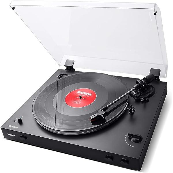 ION Audio Pro200BT - Plato giradiscos con transmisión ...