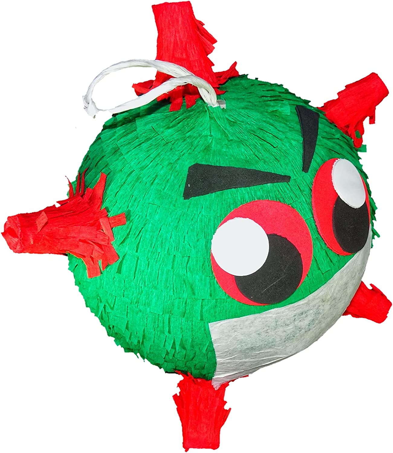 birthday theme,Vi/_rus Pinata Co/_vid pinata classic germ shape available for outdoor indoor party pinata boys and girls favorite party supplies this year for you to banish the sickness. break it