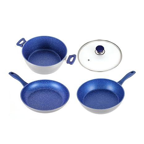 "Flavorstone Master Pan Set Master Set, 9,5,""Sapphire"