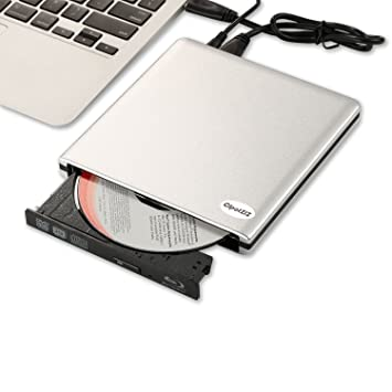 Externo Blu-ray unidad Combo, cipotziz USB 3.0 aluminio 3d reproductor de discos Blu