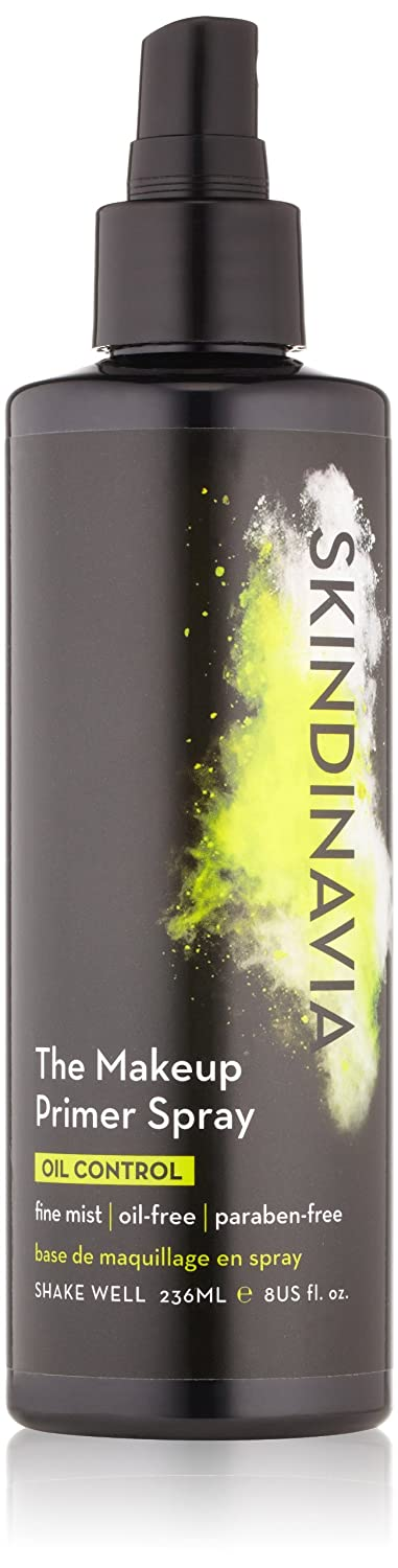 Skindinavia Makeup Face Primer Matte Mattifying Oil Control Shine Control Pore-Minimizing Paraben-Free Silicone-Free Cruelty-Free Extreme Longwear Long-lasting Spray – 8 oz – 236 ml