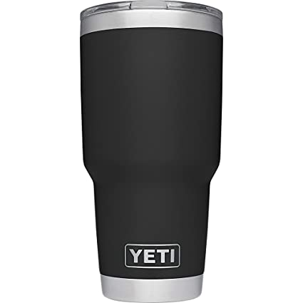 360b1a77dd6 YETI Rambler 30 oz Stainless Steel Vacuum Insulated Tumbler with Lid, Black
