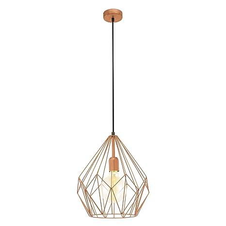 Eglo Carlton Lampada A Sospensione Superficie Copper Colour E27