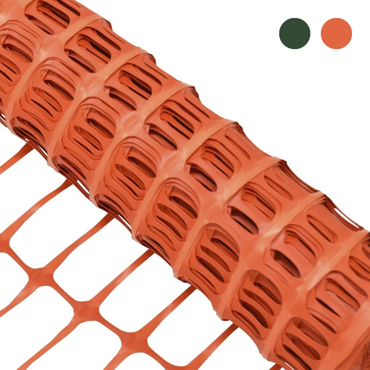 Animaux 3 ft H 1 Filet de s/écurit/é Woodside 49 ft x L 15 m Orange Tissu Mesh//Plastique