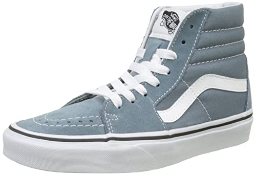 83d0f00060 Vans Mens Globin Blue True White UA SK8-Hi Sneakers  Amazon.ca ...