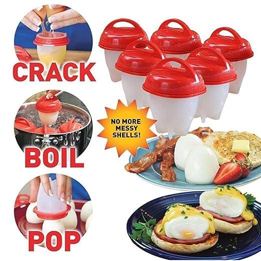COCEDOR de huevos para rígida y suave eléctrica, sin BPA, silicona ...