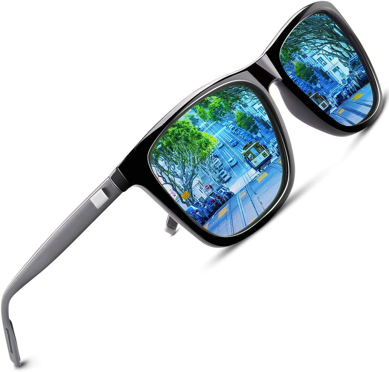 Mens Polarized Sunglasses 8 Colors Classic Driving Glasses Fashion Shades Lens