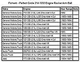 Perfect Circle 214-1093 Engine Rocker Arm Ball