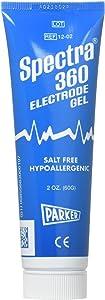 Spectra 360 Electrode Gel - Parker Laboratories - 60g (2oz) Tube - (Pack of 2)