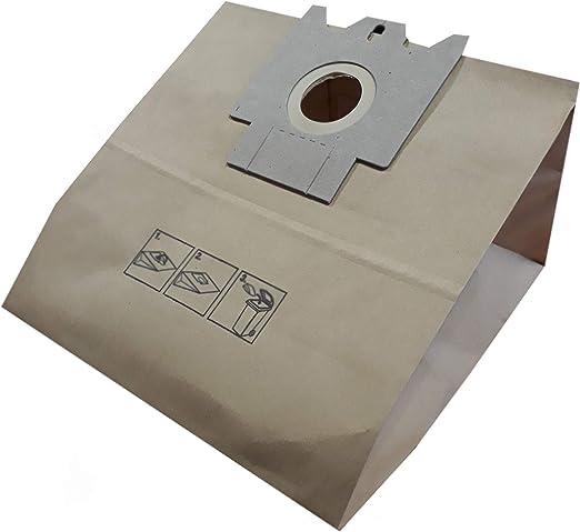 Bolsa para aspiradora Miele FJM, S246i, S261i, serie 300, AirClean, Bluemagic. - Bolsa de 10 bolsas de papel: Amazon.es: Hogar