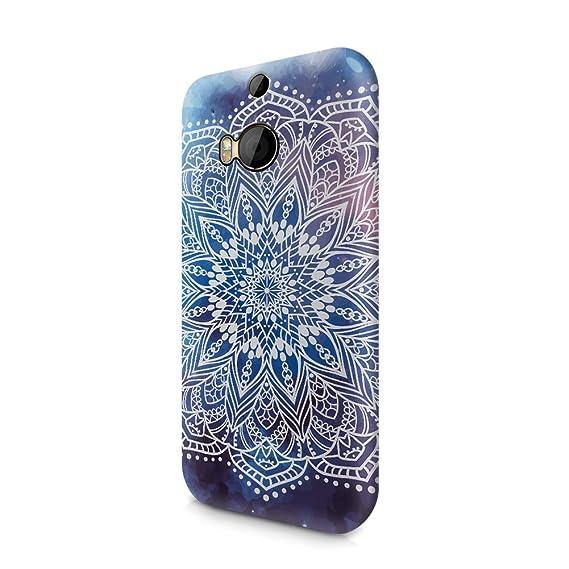 Amazon.com: Yoga Mandala HTC One M8 Plastic Phone Protective ...