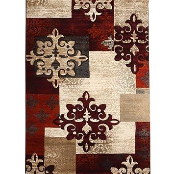 Europa Und Amerika Dekoration Wohnzimmer Teppich,Modern Einfache Teppich  Schlafzimmer Bett] Teppich B