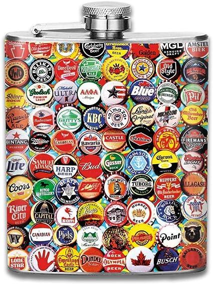 Tapas de botellas de cerveza Regalo para hombres 7 oz Prueba ...