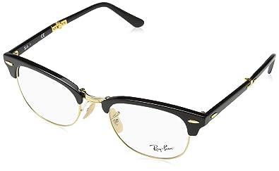 c12dbba82cb Amazon.com  Ray-Ban Unisex RX5334 Eyeglasses Shiny Black 51mm  Shoes