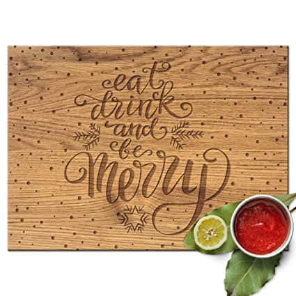 froolu eat drink be marry cutting board wedding gift for young couples christmas gifts