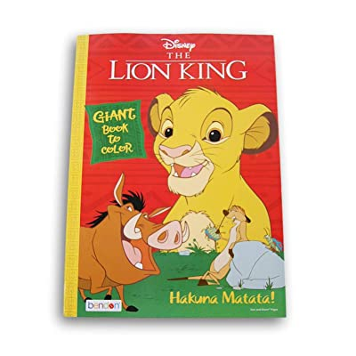 Lazy Days The Lion King Hakuna Matata Coloring and Activity Book - 80 Pages: Toys & Games