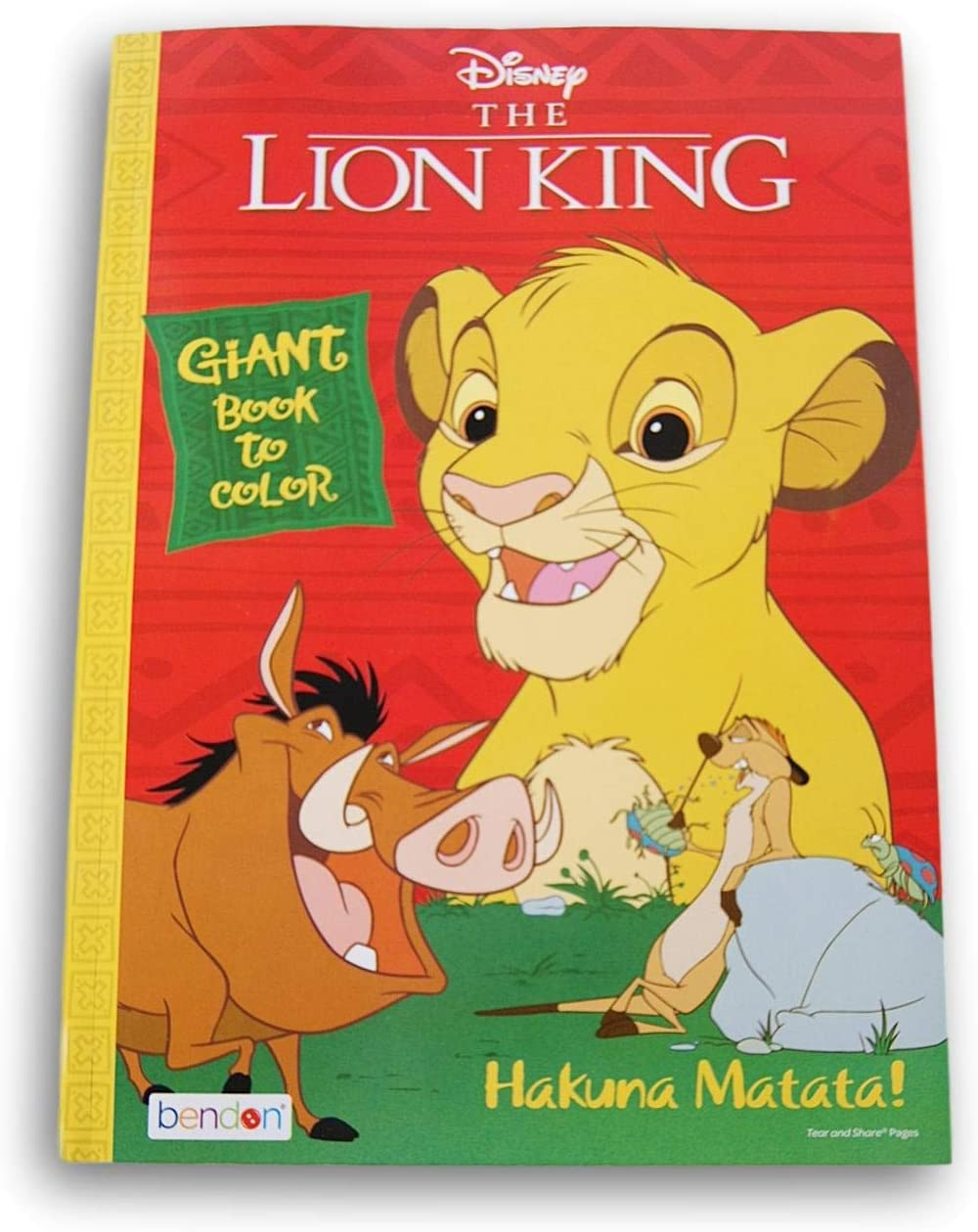 - Amazon.com: Lazy Days The Lion King Hakuna Matata Coloring And