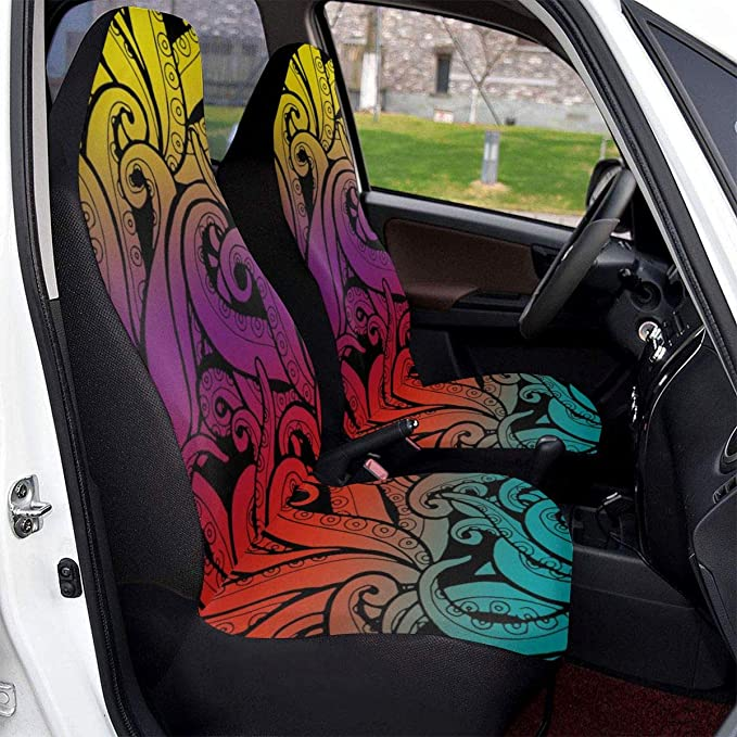 Rainbow Lightning Waterproof Spare Tire Cover Fits for Trailer RV SUV Truck Camper Travel Trailer Accessories 14,15,16,17 Inch