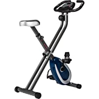 Ultrasport, F-Bike, fitnessfiets, lcd-display, inklapbare hometrainer, opt. Met rugleuning, verstelbare…