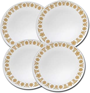 product image for Corning Corelle Butterfly Gold Dinner Plates - Set of 4 Plates