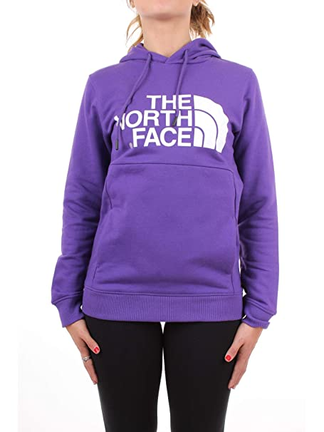 The North Face Felpa con Cappuccio Moda Ragazza Viola