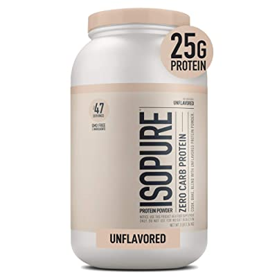 Isopure Zero Carb Unflavored 25g Protein