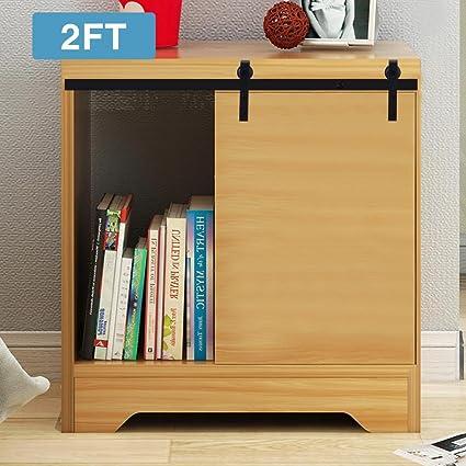 Amazon Artist Hand 2ft Mini Cabinet Barn Door Hardware Kit