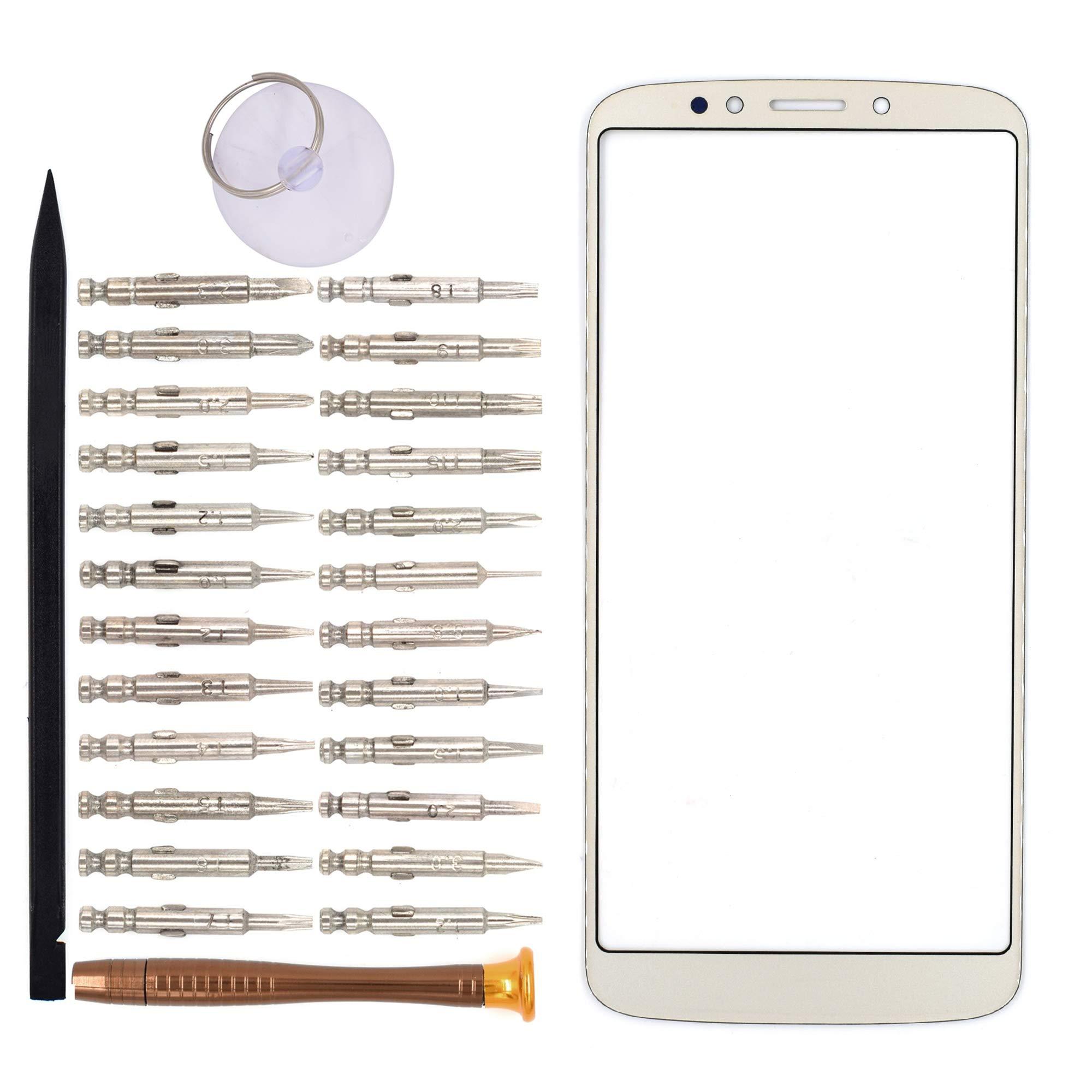Vidrio Frente Para Motorola Moto E5 Plus Dorado [goodyitou]