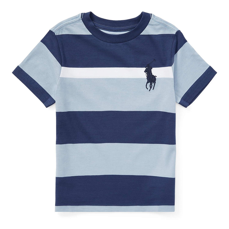 2175f86064e95 Amazon.com  Polo Ralph Lauren Baby Boys Striped Big Pony Tee (12 Months