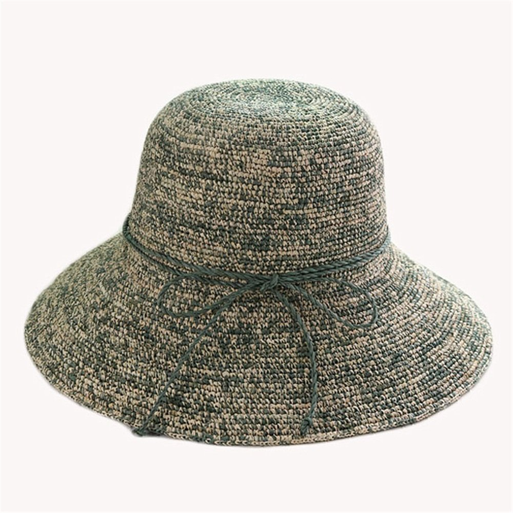 Shuo lan hu wai Der Hut der Frauen kann in den Hut der Sun-Hut-Damen gefaltet Werden