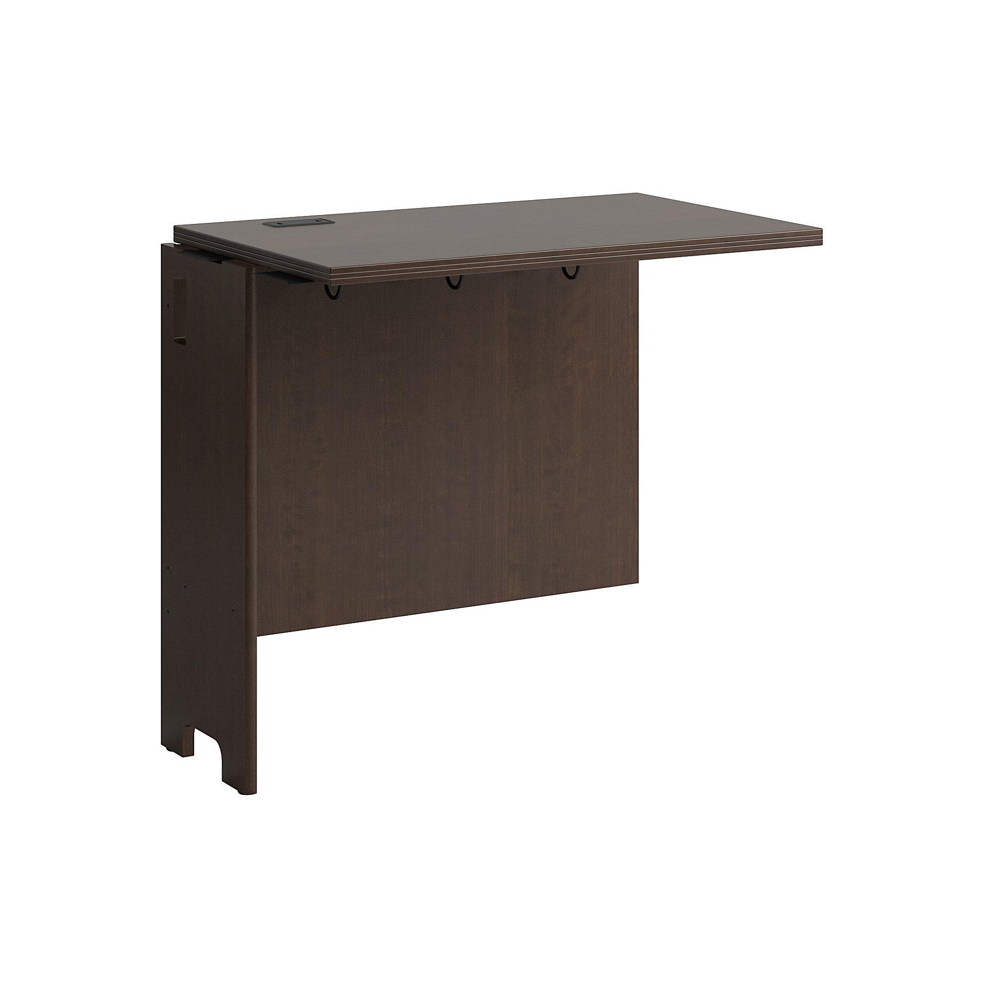 Bush Furniture Envoy 32W Desk Return in Mocha Cherry by Bush Furniture