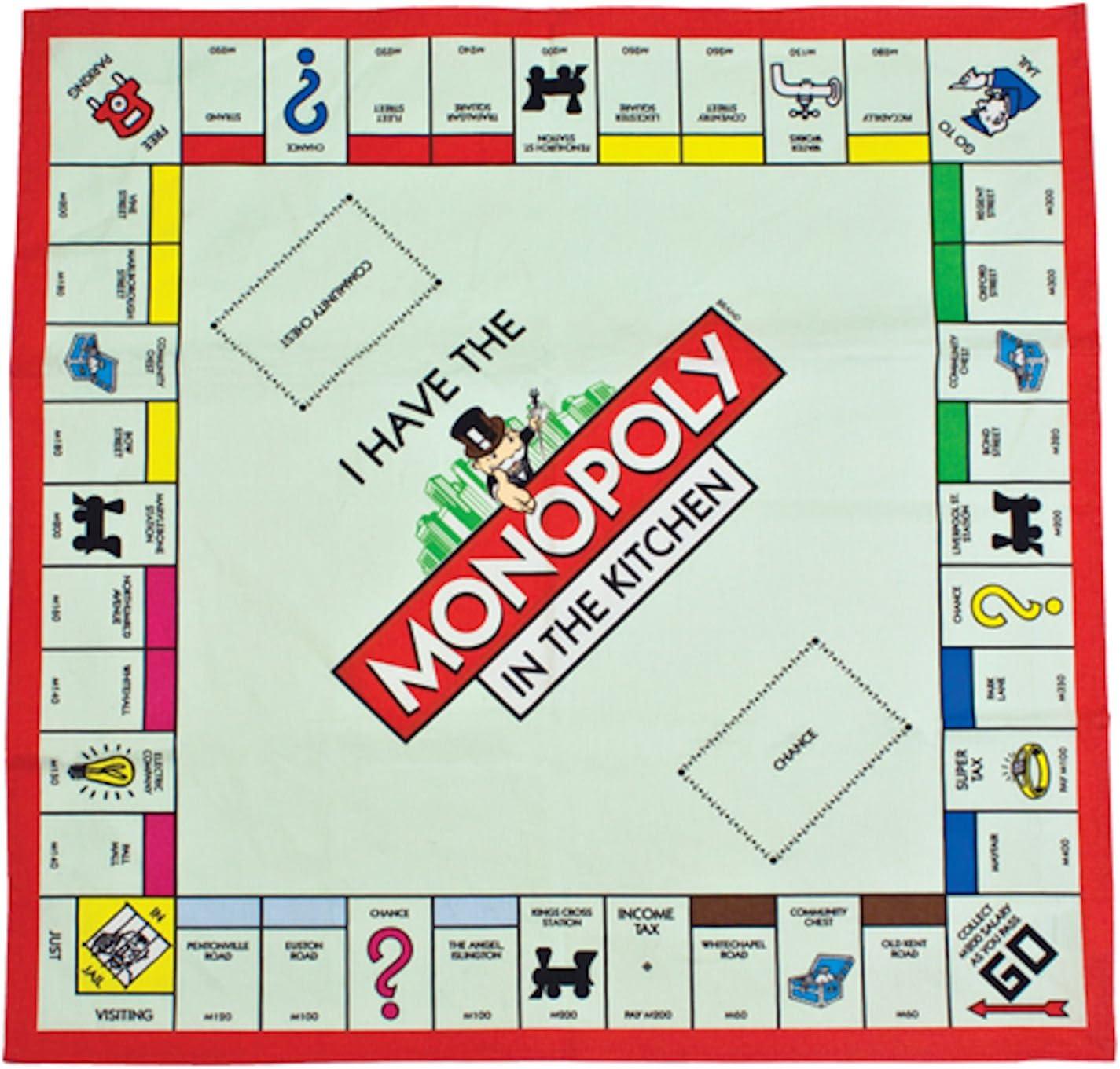 Monopoly junta toalla de té: Amazon.es: Hogar