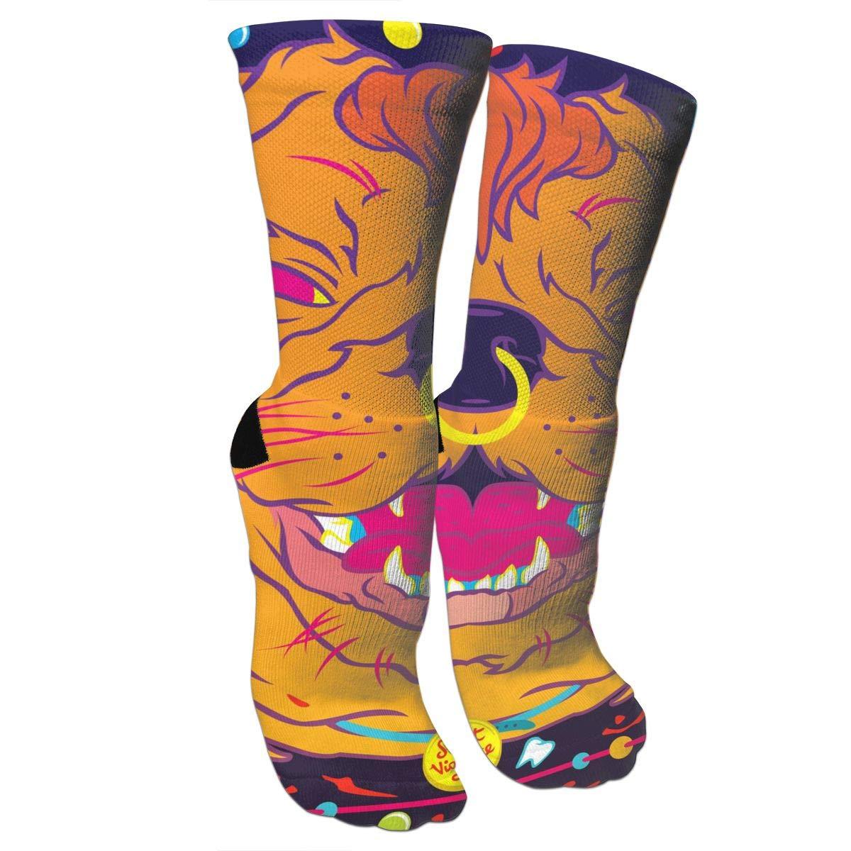 Amazon.com: Psicedelic - Calcetines de baloncesto con diseño ...