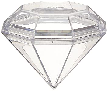 Firefly Imports Fillable Plastic Diamond Shaped Container, 12 Pack:  Amazon.ca: Home U0026 Kitchen