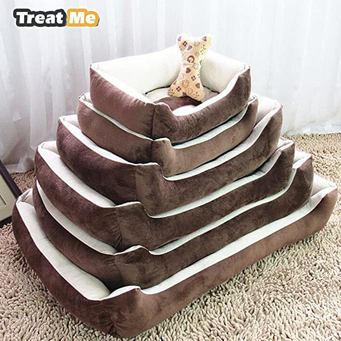 Amazon.com : Treat Me Plus Size Large Dog Soft Comfortable Dogs House-Pet Bed Mats : Pet Supplies