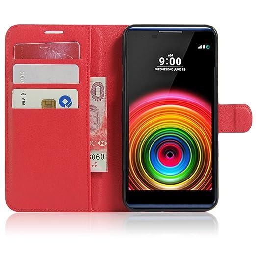 15 opinioni per LG X power Wallet Cover, SMTR Custodia In Pelle Con Wallet Case Cover Per LG X