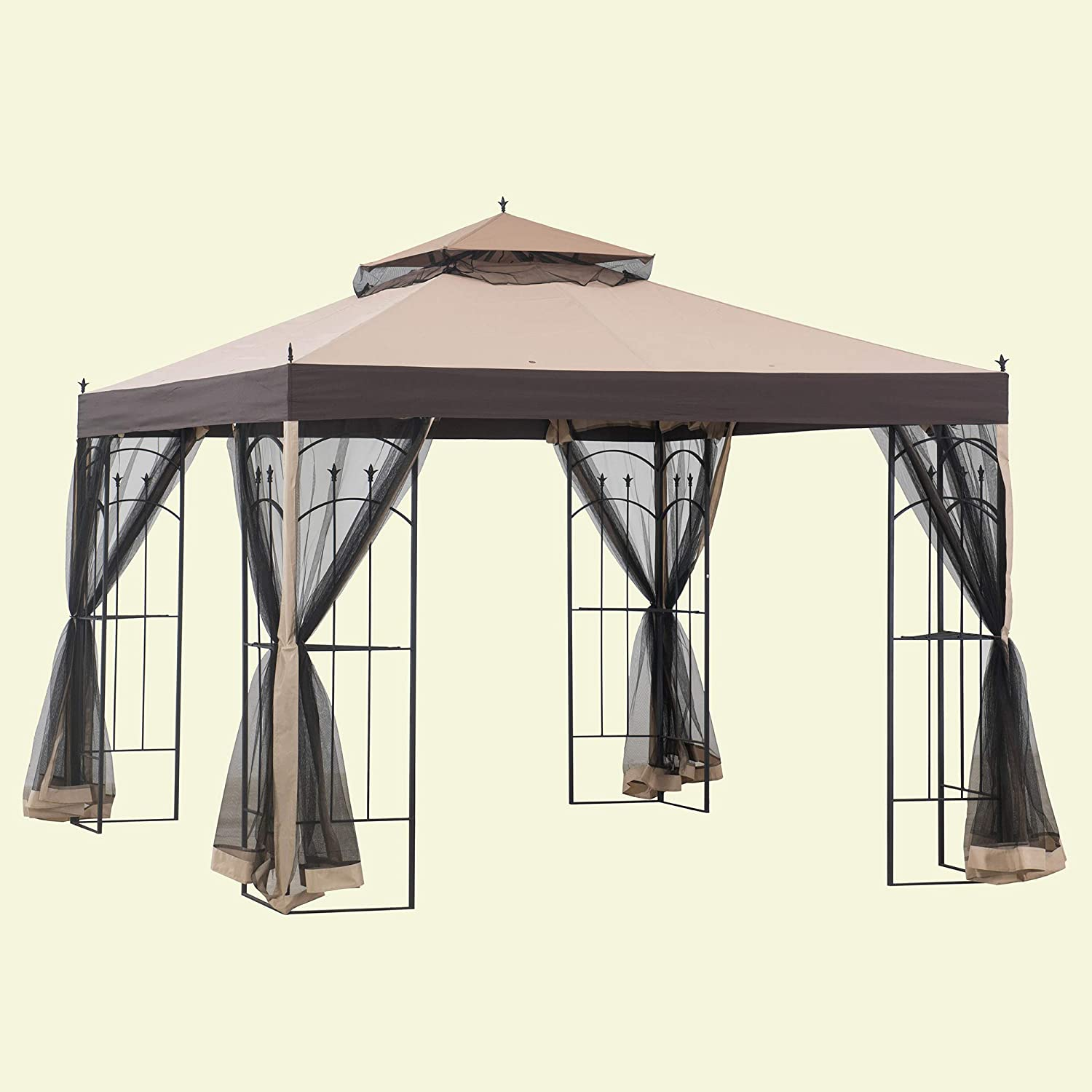 Sunjoy Replacement Mosquito Netting for Arrow Gazebo