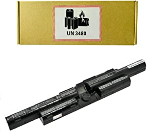CQCQ FPCBP446 FMVNBP236 FPB0344S Compatible Battery Replacement for Fujitsu Lifebook T725 Fujitsu Lifebook T726 FPCBP446AP FMVNBP236 FPB0318S CP673831-01 CP743061-01 Laptop (11.25V 72Wh / 6400mAh)