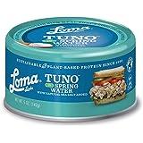 Loma Linda Tuno - Plant-Based - Spring Water (5 oz.) (Pack of 12) - Non-GMO, Ocean Safe, Omega 3, Seafood Alternative