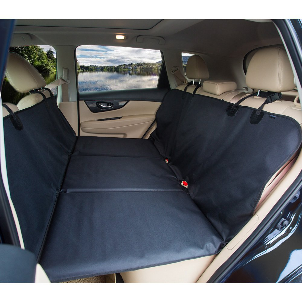 Amazon.com : Pet Car Seat Cover Backseat Pet Bridge - Ideal for ...