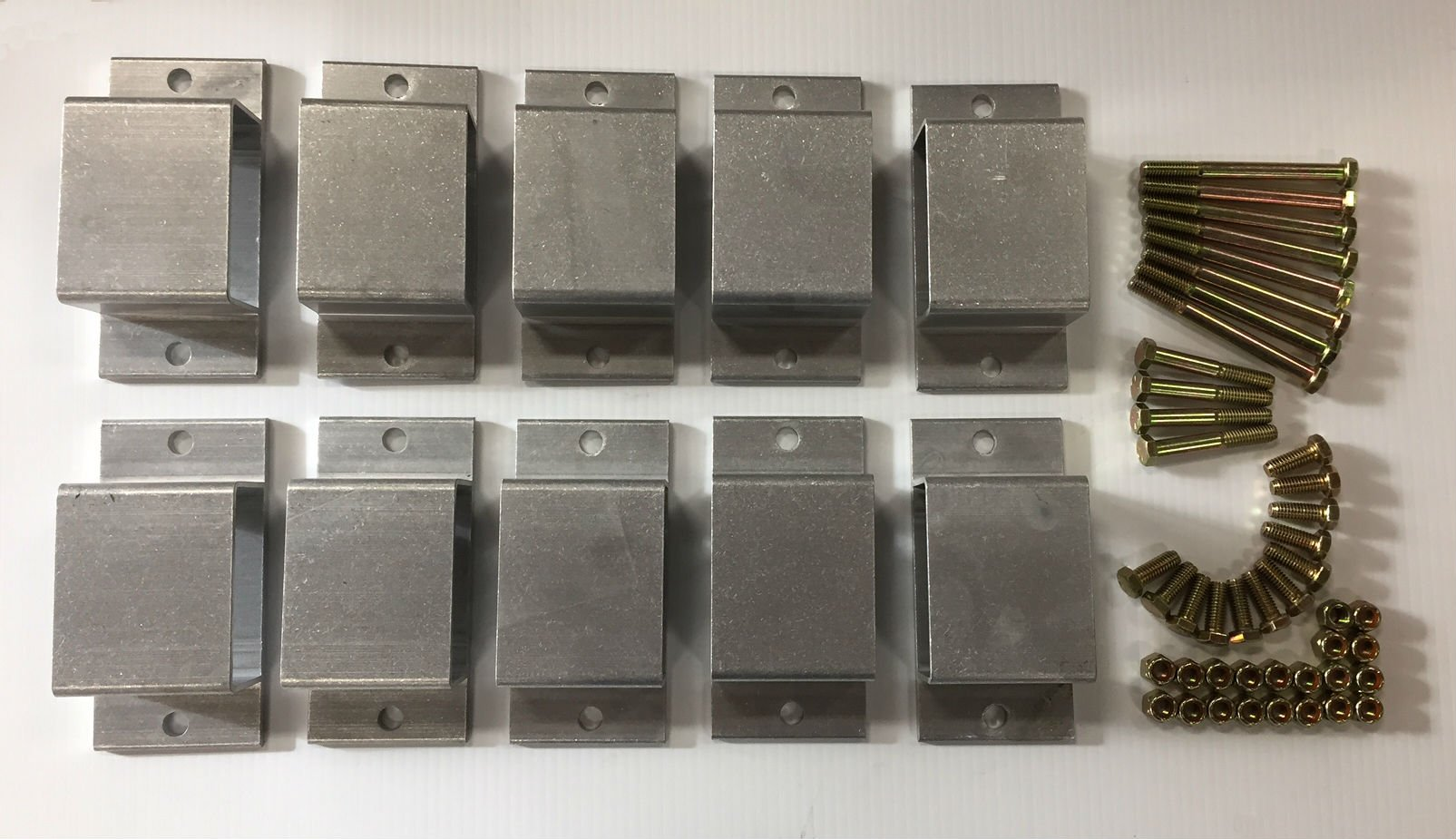 Triton 02784 Aluminum Stake Pocket Kit with 10 Pockets by Triton