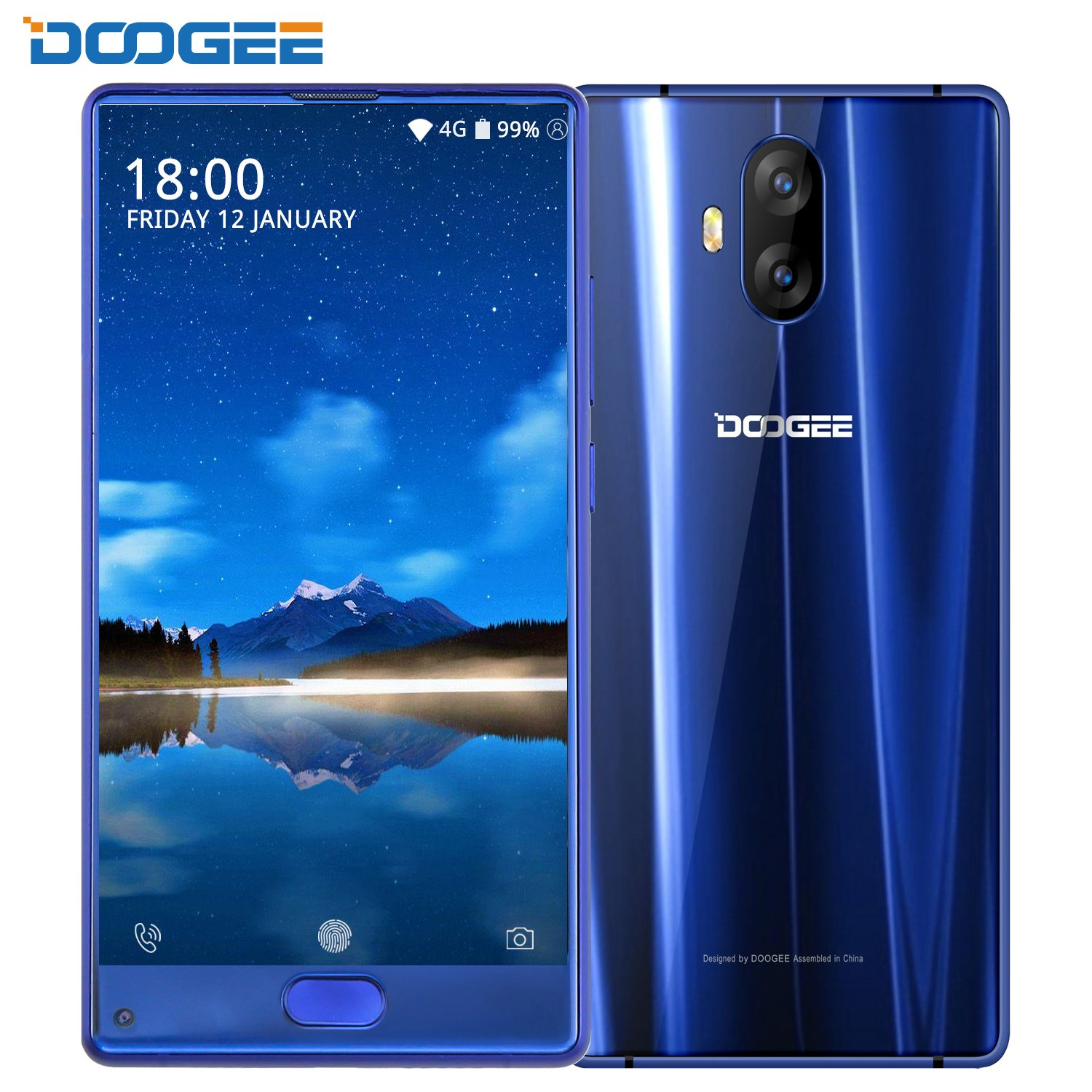 Cellulare SIM Free, DOOGEE Mix Lite 4G Smartphone